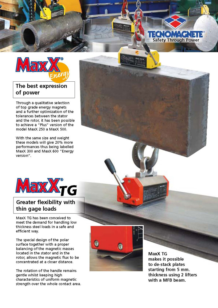 MaxX TG - Products